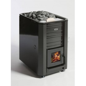 Aito Wood-fired Sauna Aito 24VS, with water tank, black enamel