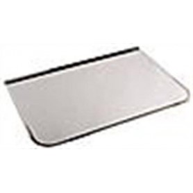 Accessories for a heated sauna heater Front plate / spark protection Chrome 700x400 mm