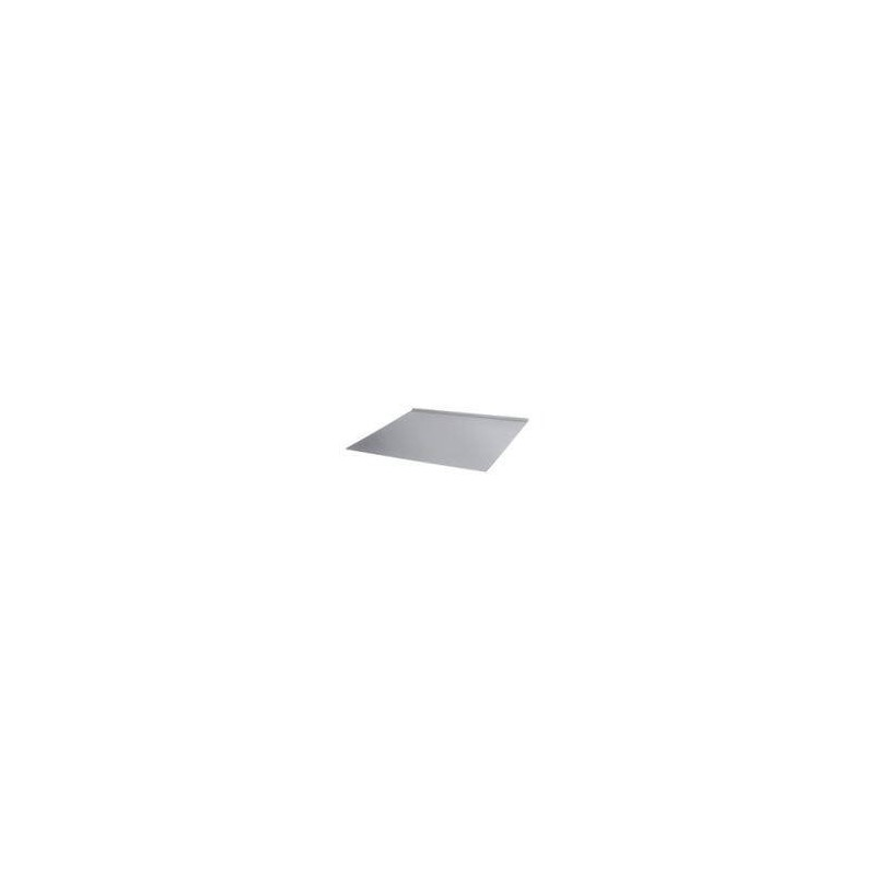 Accessories for a heated sauna heater Spark protection plate stainless 550 x 450