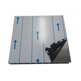 Accessories for a heated sauna heater Ceiling protection plate Kota stainless 650 x 650 mm
