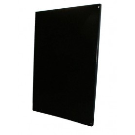 Accessories for a heated sauna heater Wall protection plate Black 800x1000