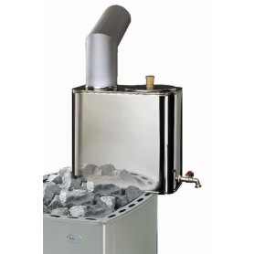 Accessories wood-fired sauna heater Kota water heater, chimney model