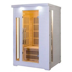 Snow Drop Infrared Sauna for 2 people
