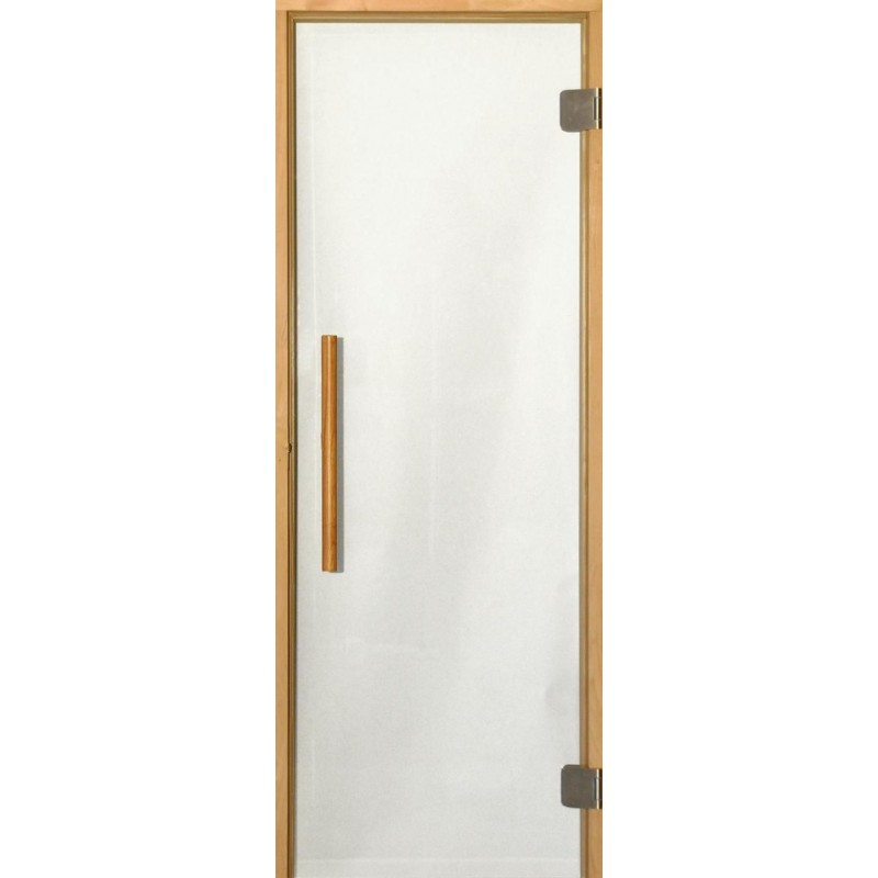Sauna doors size 7x20 Sauna door 7x20 Premium, with clear glass and alcarm Clear glassKarm in al
