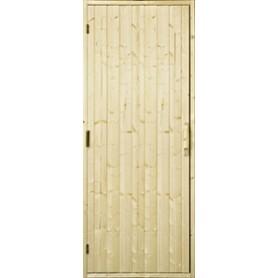 Wooden sauna doors Wooden sauna door, 9x21 without windows Fir