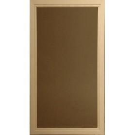 Sauna window size 5x9 Sauna window 5x9 Bronze-colored Glass with Aspkarm