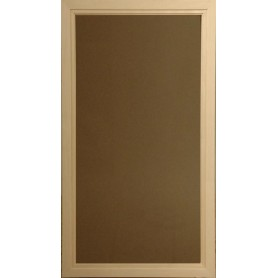 Sauna window size 5x9 Sauna window 5x9 Bronze-colored Glass with AL-frame
