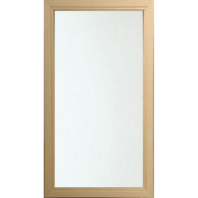 Sauna window size 5x9 Sauna window 5x9 Clear Glass with Al-frame