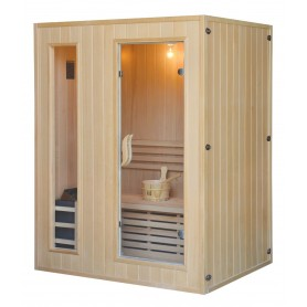 Sauna Traditional Classic for 3 people Traditional sauna for 3 people.Size: 1530 x 1100 x 1900 mmWood: Hemlock