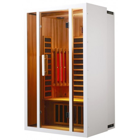 Harmonica the extendable infrared sauna