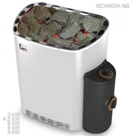 Sawo Scandia 4.5 kW sauna heater - Premium integrated control