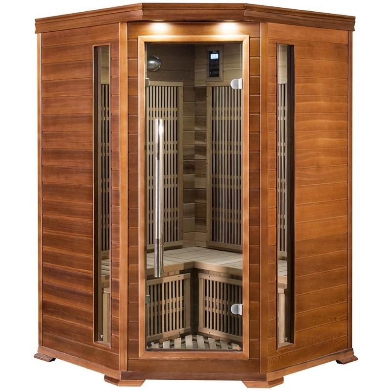 Corner sauna Infrared corner sauna