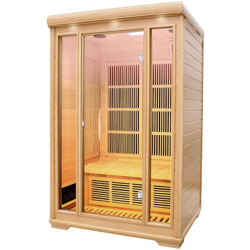 Delfi infrared sauna for 2 people