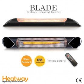Patio heater Blade black Infrared heater