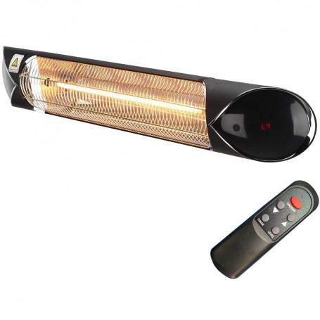 Patio heater Blade black Infrared heater