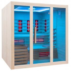 Adjustable sauna with remote control