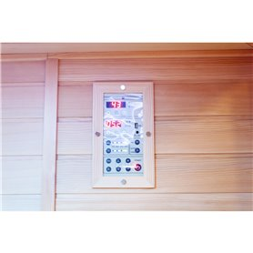 Control panel for easy operation