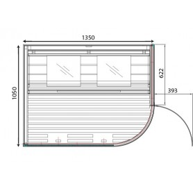 Wiwo Care plan sketch, Height 2000mm