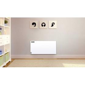 Infrared heating panel white metal 400w