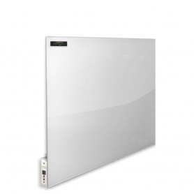 Infrared heating panel white Glass 500w