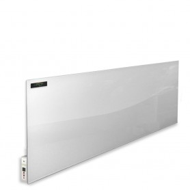 Infrared heating panel white Glass 550w