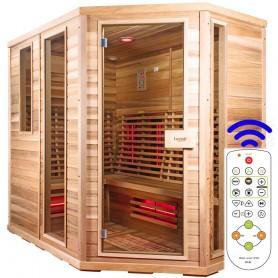 Sauna Relax Lux right cedar