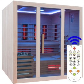 Combinations sauna Heatway 4-5 people