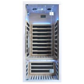 Infrared sauna Glossy white