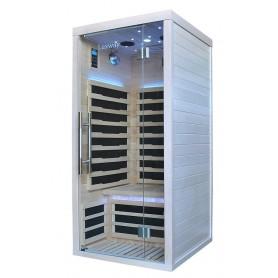 IR-sauna Glossy white painted