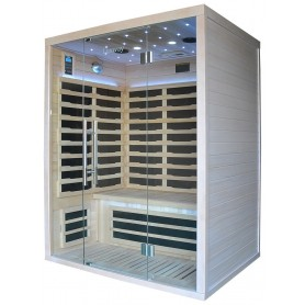 Glossy FAR infrared sauna