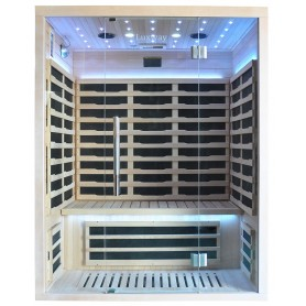 Infrared sauna Glossy for 3 persons