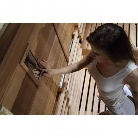 Outgoing products Sauna Relax Lux Hem lid Exterior dimensions.Length: 2100 mmHeight: 2000 mmWidth: 1400 mmSold out: Calculated l