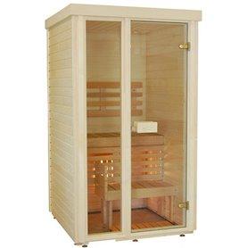 Sauna room in aspen- 110x110 cm