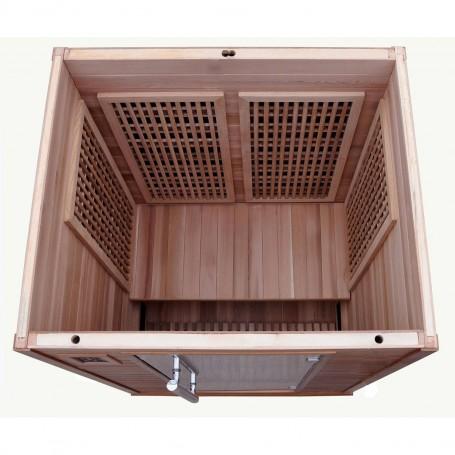 Outgoing Products Apollon Tourmaline Sauna Hemlock