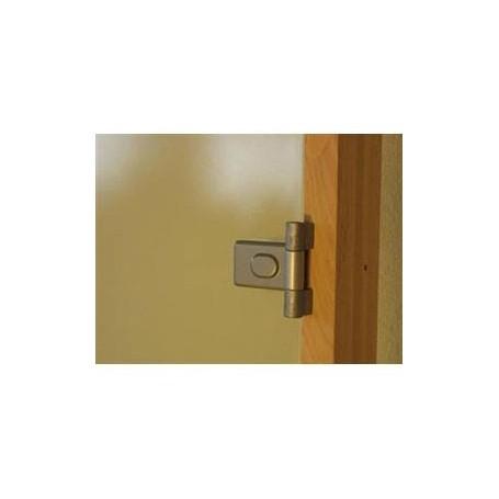 Sauna doors size 9x21 Sauna door 9x21 Classic with clear glass and pine frame